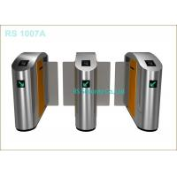 Half  Height Sliding Speed Gates Turnstile Waterpoof  with Card Reader Manufactures