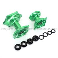 Aluminum Alloy Dirt Bike Parts Motorcycle Hub Set Kawasaki KX125 KX250 Green Manufactures