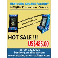 22 Inch LCD  Mini Pinball Machine with 160games  (Pinball +arcade ) Manufactures
