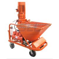 Cement Mortar Spraying Machine For Building , Automatic Wall Plastering Machine Manufactures