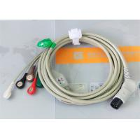 TPU Material Patient Monitor Accessories One Piece ECG Cable Compatible M&B Manufactures