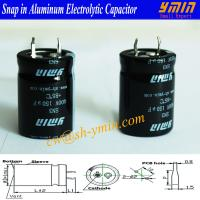 150uF 450V Capacitors High Frequency Snap In Aluminum Electrolytic Capacitors for Welding Machines RoHS Manufactures