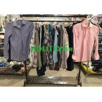 American Style Mens Used Clothing Long Sleeves 27- MS-L With Cotton Material Manufactures