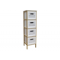 BSCI 110cm Height Wood Nightstand With Drawers Manufactures