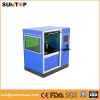 500W Small size fiber laser cutting machine for stailess steel and brass cutting Manufactures