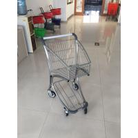 Q195 Low Carbon Steel Supermarket Shopping Trolley Used In Airport Free Duty Manufactures