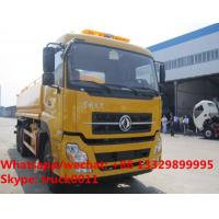 Quality 2017s dongfeng tianlong 6*4 LHD 20m3 water bowser truck for sale, HOT SALE! for sale