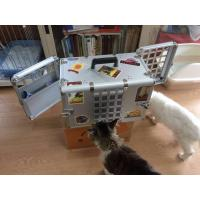 Household Aluminum Dog Cage for Car / Pet Grooming Cage Carrying Case Manufactures