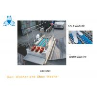 Commercial SS304 Boot And Sole Cleaning Machine Brush Tool For Pharmacy Manufactures