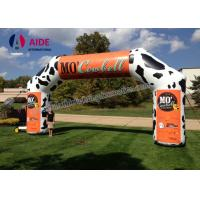 Durable Wide Inflatable Race Arch Car Logo Inflatable Run Through Tunnels Manufactures