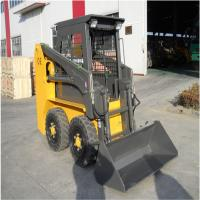70Hp Small Skid Steer Loader Equipment With Front End Loader 2100Kg Lifting Force Manufactures