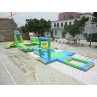Funny Inflatable Backyard Water Park , Inflatable Outdoor Games Manufactures
