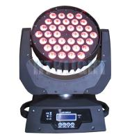 High Brightness Led Moving Head Wash Light , 36x9W 3in1 Professional Led Stage Lighting