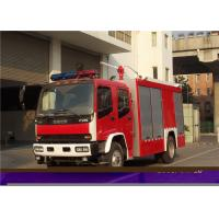 Quality Max Power 107KW Fire Department Utility Vehicles , Stroboscope Lamps Fire Command Truck for sale