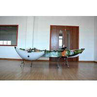 Plastic Sea Fishing Kayak Customized Color Well Performance With Rod Holders And Paddle Manufactures