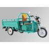 Front Rear Brake Electric Three Wheel Motorcycle , Three Wheel Cargo Motorcycle Manufactures