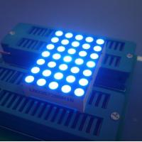 Digital Time Zone 5x7 Dot Matrix LED Display Ultra Blue1.26 Inch 3mm Long Lifetime Manufactures