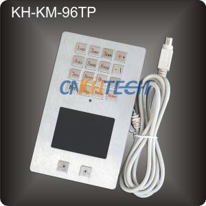 Metal industrial kiosk keypad Manufactures