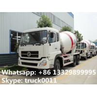 best quality factory sale 6*4 Dongfeng 12 cubic meters concrete mixer truck, dongfeng dalishen 12m3 concrete mixer truck Manufactures