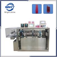 China 2 Heads PVC/PE Plastic Ampoule Filling Machine for Cosmetic Hyaluronic Acid Liquid Manufactures