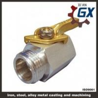 China Cast NPT Full Port Private Label on Handle Ppr Ball Valve With Brass Ball on sale