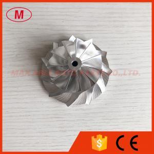 GT15-25 reverse 48.88/68.95m 11+0 blades high performance Turbo aluminum 2618/milling/ billet compressor wheel