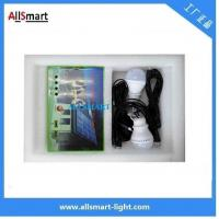 Quality Multi-function portable solar led light 2 bulb with mobile phone charger solar for sale
