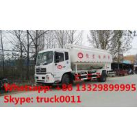 Quality hydraulic system bulk feed delivery truck for sale, 20cbm poultry feed tank truck for sale for sale