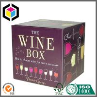 High Quality Beer Brewery Color Packaging Box; Custom Color Corrugated Box Manufactures