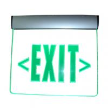 Led edge lit emergency exit sign Manufactures