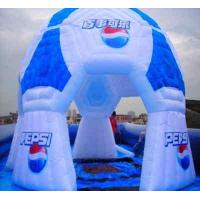 Custom Outdoor Inflatable Party Tent For Sports Items , Commodity Exhibition Manufactures