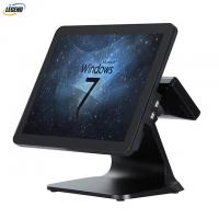 Plastic Case PC POS System 1024 X 768 Pixels Resolution With Aluminium Alloy Stand Manufactures