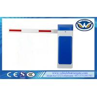 Buy cheap 1M to 6m LED Rubber Boom Automatic Barrier Gate With LED Dispaly , AC 220v from wholesalers