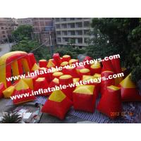 Red Inflatable Sport Games Manufactures