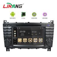 7 Inch Touch Screen Mercedes Benz DVD Player With Multimedia Player Manufactures