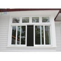 High Standard Aluminium Sliding Windows AS2048 Space Saving With Security Mesh Manufactures
