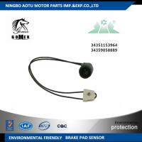Front Axle 34351153964 34359058889 Disc Brake Wear Sensors For Automotive Manufactures