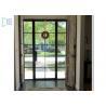 Buy cheap Powder Coating Aluminium Casement Door With Decoration Bar Vision from wholesalers