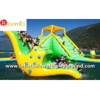 Cool Inflatable Water Games Kids Water Slide Totter For Lake Aqua Parks Manufactures