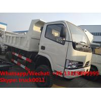 Factory customized cheapest price CLW brand 4*4 RHD diesel dump tipper truck for sale, CLW dump pickup vehicle Manufactures
