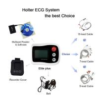 Buy cheap Holter ECG Monitor 12-Channel or 3-Channel CE&FDA Approved Connection with White from wholesalers