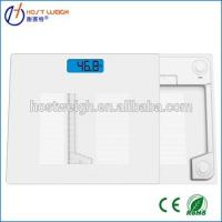 New Design Bluetooth digital body fat scale for IOS and Andriod with free APP in different language Manufactures