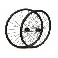 Light Weight Mountain Bike Wheels With Anti Pull Carbon Fiber , Lightest Mtb Wheelset  Manufactures