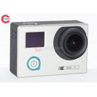 Underwater 30m Sports HD DV With Adjustable Angle , HDMI 4K 24 Fps Action Camera Manufactures
