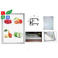 Standard Size A0 A1 A2 Light Up Movie Poster Frames , Low Flickering Snap Frame LED Light Box Manufactures