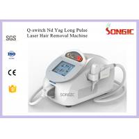 Long Pulse ND Yag Ipl Laser Hair Removal Machine 1064nm & 532nm Wavelength Manufactures