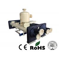 Water Chiller Unit Flooded type Evaporator Built - In Oil Separator Manufactures