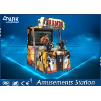 Quality Digital 3D Display Shooting Arcade Machines With Interactive Sound System for sale