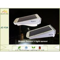 Rechargeable Waterproof 3W Solar Powered Motion Detector Exterior Light Manufactures