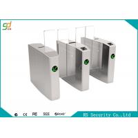 Pedestrian Automatic Speed Gate Turnstile Direction Indication Sliding Barreir Manufactures